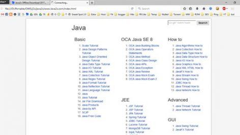 نسخه آفلاین سایت Java2S.com