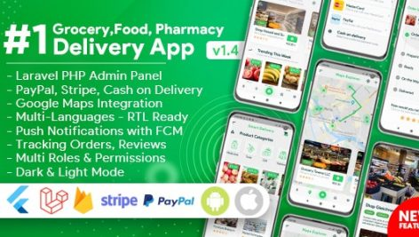 SmartMarket – سورس کد پروژه سوپر مارکت آنلاین با پنل مدیریت حرفه ای با قابلیت تحویل کالا
