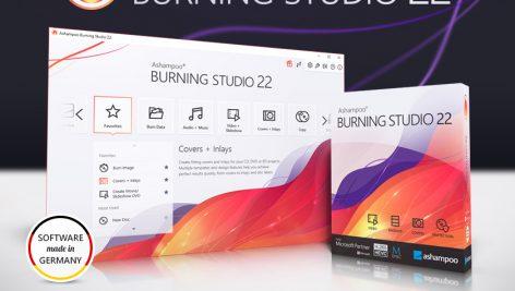 آموزش نرم افزار Ashampoo Burning Studio