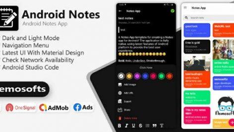 پروژه Android Notes